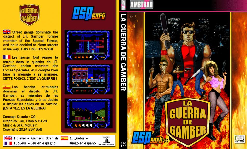 45345435 La guerra de Gamber · Amstrad CPC