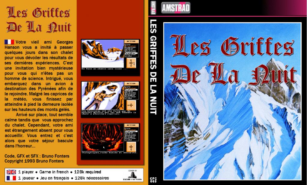 Sin titulo 1 Les Griffes de la nuit · Amstrad CPC