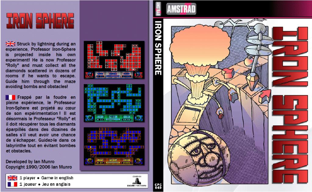 Sin titulo Iron Sphere · Amstrad CPC