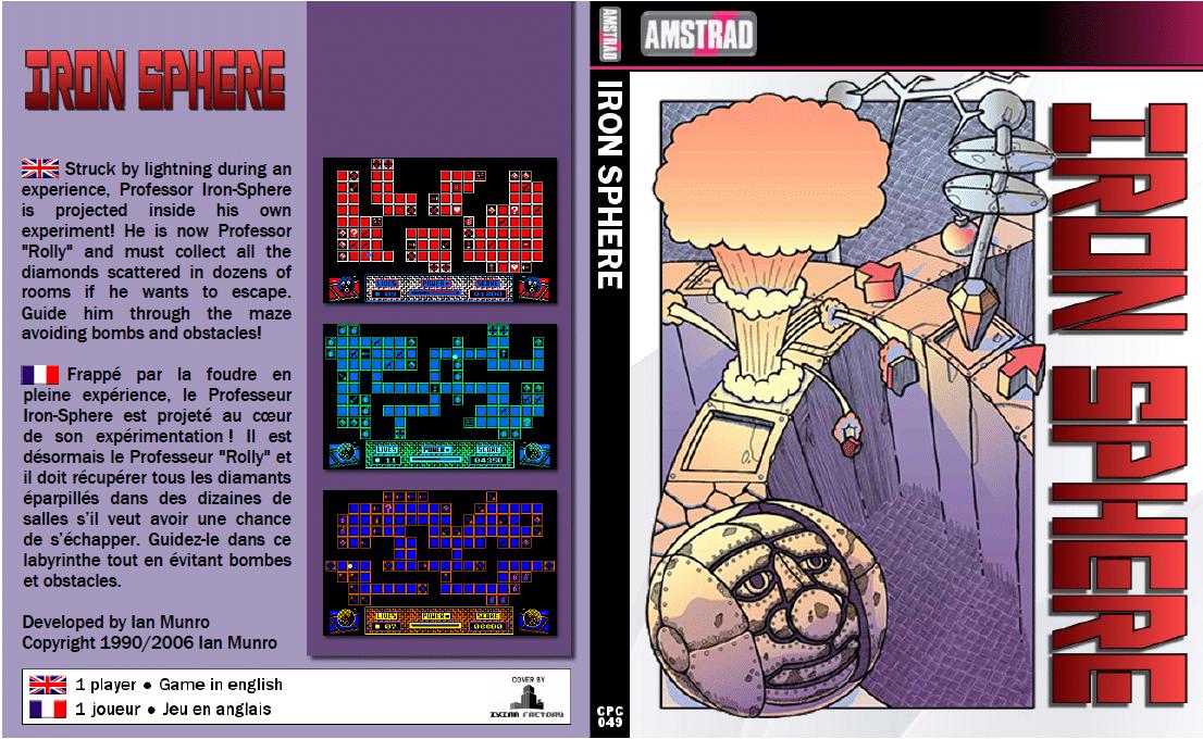 Iron Sphere · Amstrad CPC