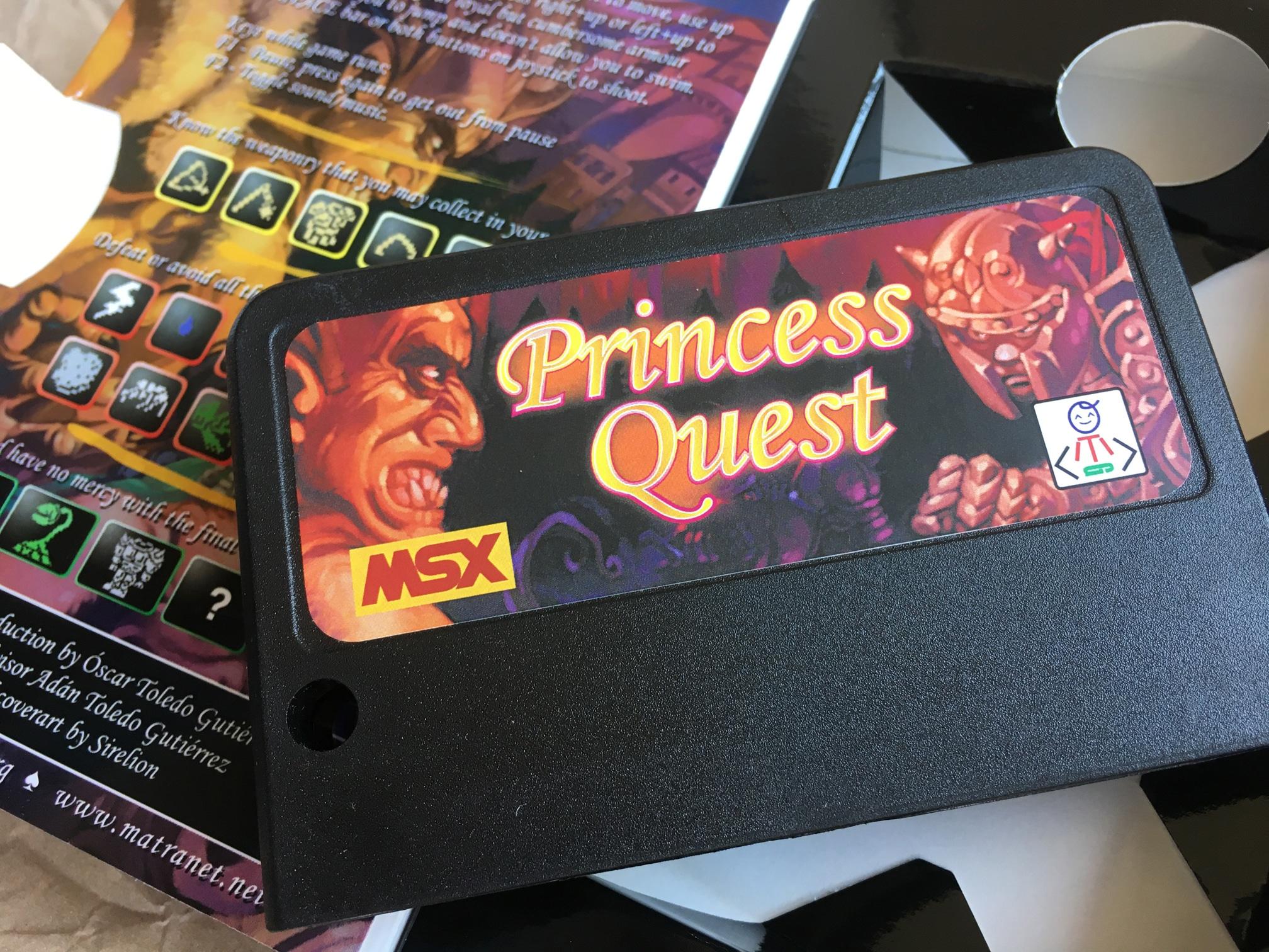Princess Quest · MSX