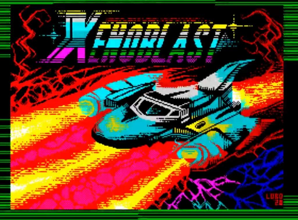 Xenoblast · ZX Spectrum