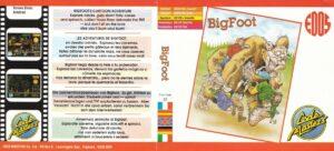 Big Foot Rerelease EDOS FRENCH SPANISH ENGLISH GERMAN ITALIAN Bigfoot · Amstrad CPC