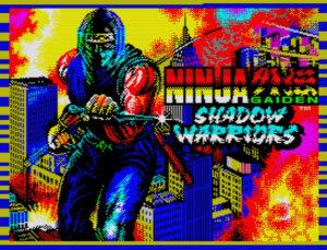 Ninja Ninja Gaiden Shadow Warriors · ZX Spectrum