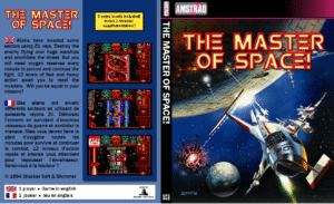 Sin titulo The Master of Space · Amstrad CPC