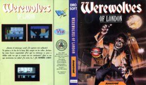 Werewolves of London Release TAPE DROSOFT SPANISH Werewolves of London · Amstrad CPC