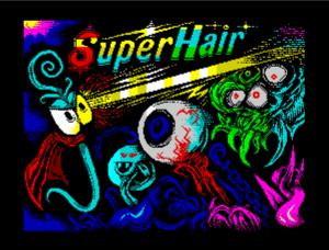 jzSg4O Super Hair · ZX Spectrum